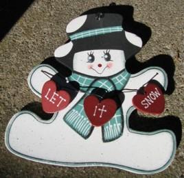 1054 - Let It Snow Snowman