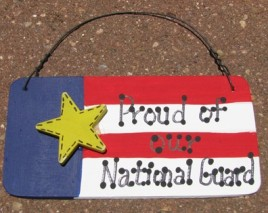 10977PNG-Proud of our National Guard wood sign