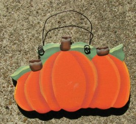 1062 Wood Pumpkin