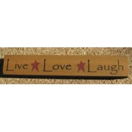 32327LG-Live Love Laugh wood block