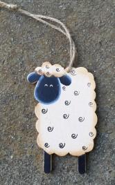33098M Sheep Ornament