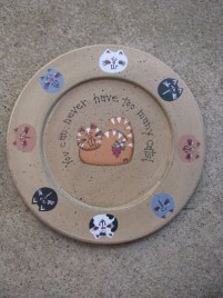 36912C - You can Never have too many Cats Plate