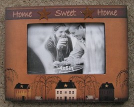 45308 Home Sweet Home wood Picture Frame