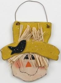 Primitive Wood 7701 - Scarecrow Head