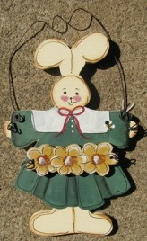847RG - Wood Green Sunflower Rabbit