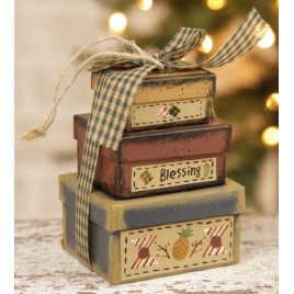 8B2994-Blessings Mini Nesting Boxes