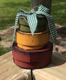3B1133- Oval Mini Nesting Boxes