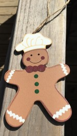 Gingerbread 33871 Baker Ornament
