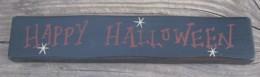 M9030HH- Happy Halloween wood Block