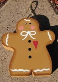 Gingerbread Man CH19 -Wood