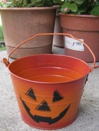1234jol -Halloween Metal Bucket