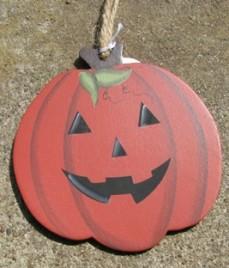 Primitive Fall Decor wd1137-Halloween Pumpkin