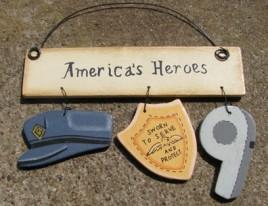 1173A  Policeman American Heroes